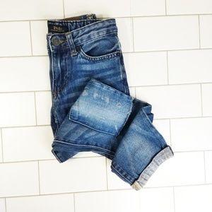 Polo Sullivan Slim Patchwork Cuffed Jean